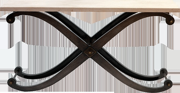 Andrew Martin - Alpha console table - H800 W1600 D500mm