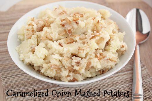 Caramelized-Onions-Mashed Potatoes | Yum! | Pinterest