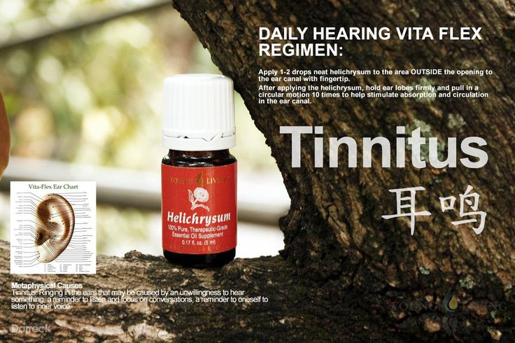 how to stop tinnitus with esstential oils