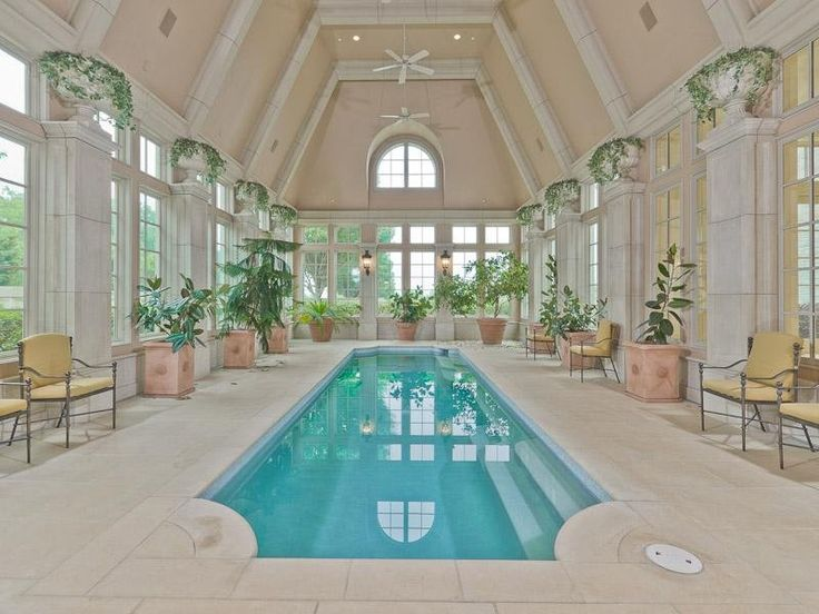 The Indoor Pool Dallas Tx Mansion Swimming Pools Pinterest