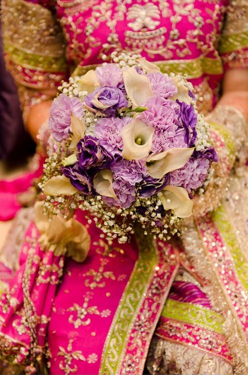 Indian bridal flowers ...