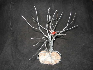 How to Make Twisted Wire Tree Sculpture Tutorials - The Beading Gem's Journal