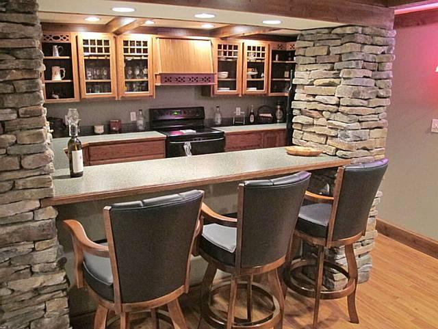 Basement Bar Dream Home Pinterest
