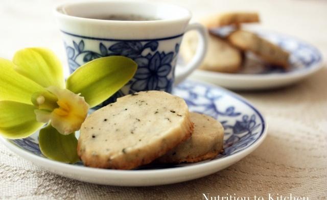 Earl grey tea cookies! Fabulous recipe! Never under-estimate the power ...