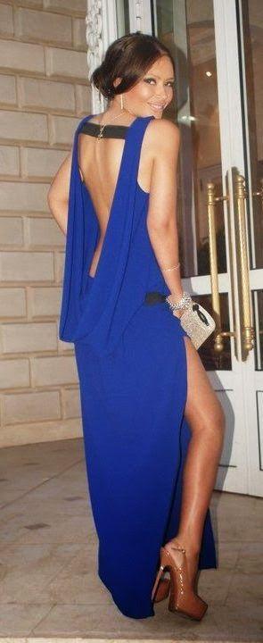 Hot backless outfi fashion