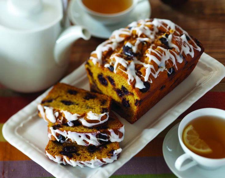 Blueberry Pumpkin Bread