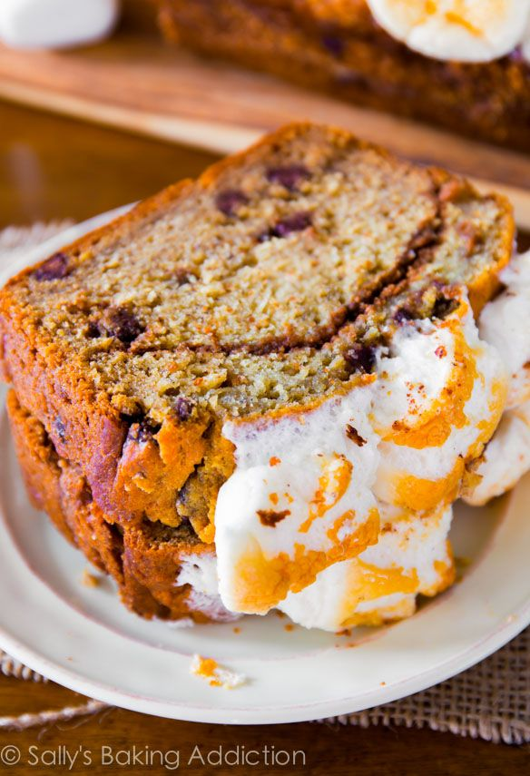mores Banana Bread - all your favorite s'mores flavors baked into my ...