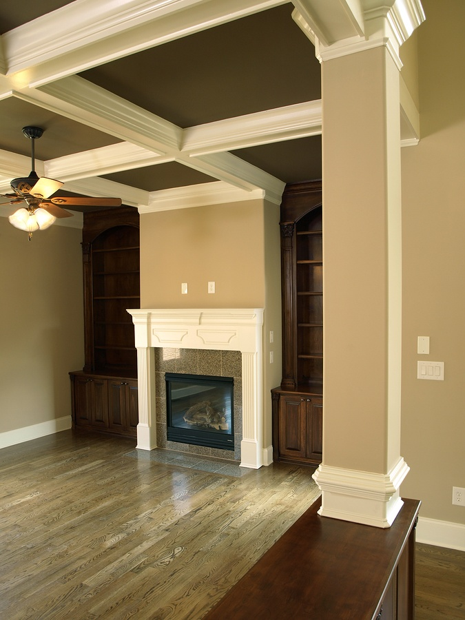 Taup walls with white trim bedrooms pinterest - Wall taupe ...