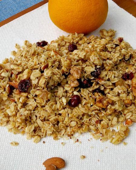 Orange Cranberry Granola C | Granola | Pinterest