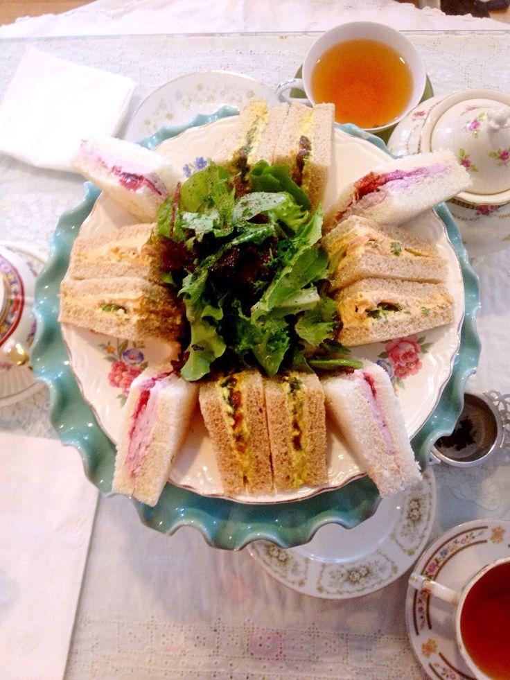 sandwiches - Dartealing Lounge, San Francisco, CA, US (Smoked salmon ...