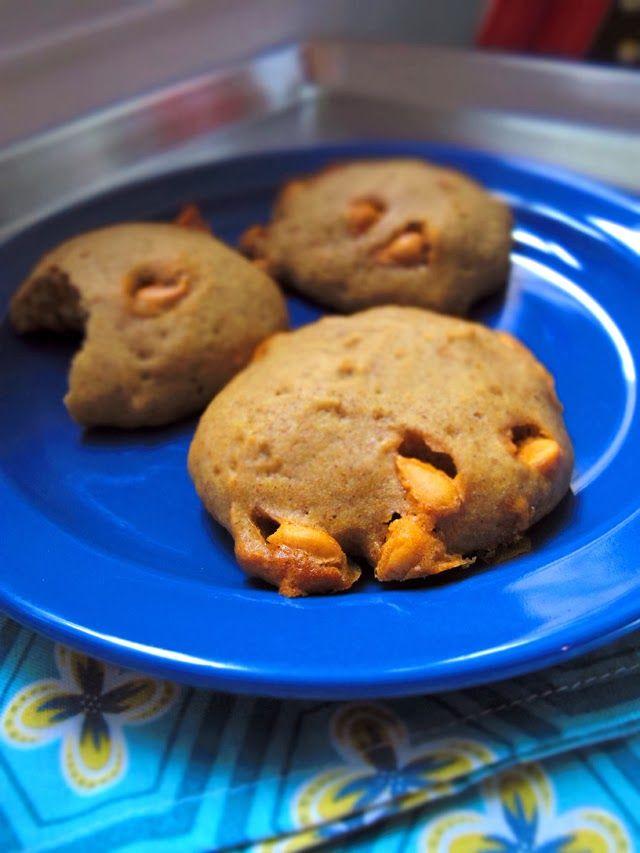 meadows cooks: pumpkin cookies with butterscotch chips {# ...