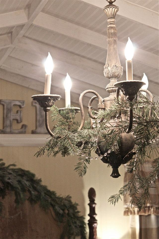 christmas chandelier christmas decor pinterest