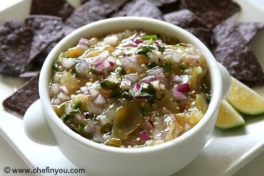 Mexican Tomatillo Salsa Verde (Green Sauce Recipe)