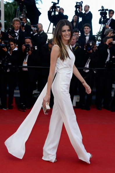 Isabeli Fontana in Elie Saab at Cannes 2013