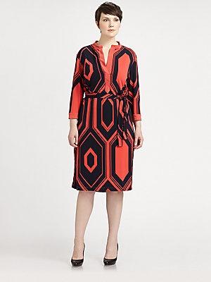 t-blouse plus length dresses