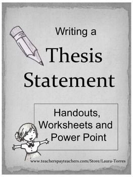 what is point by point thesis