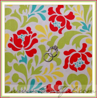 valentine rose fabric