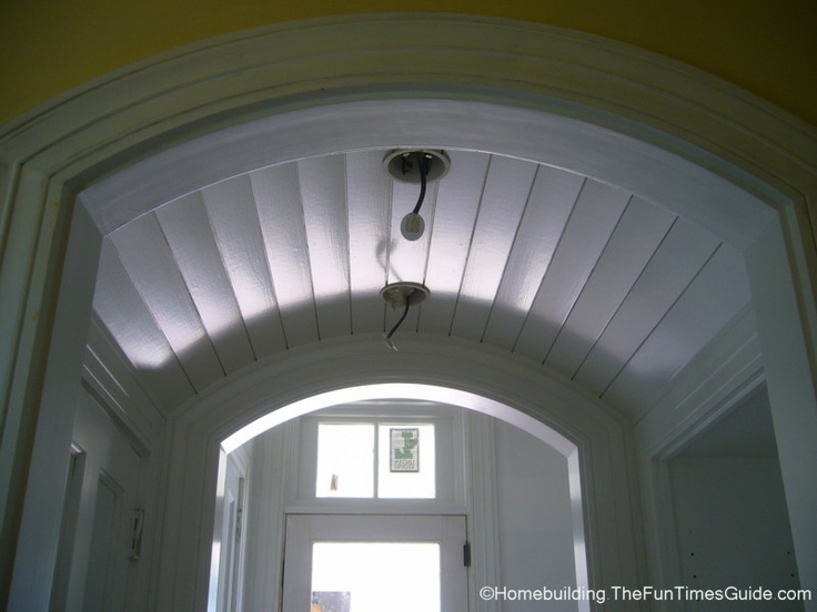 Barrel vaulted ceilings google search barrel vaulted for Barrel vault roof