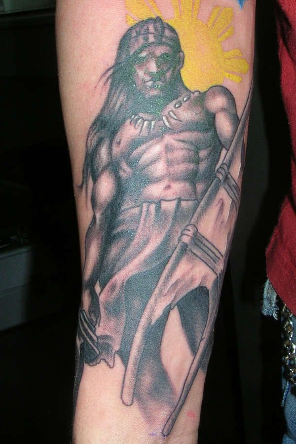 filipino warrior tattoo filipino tattoos pinterest