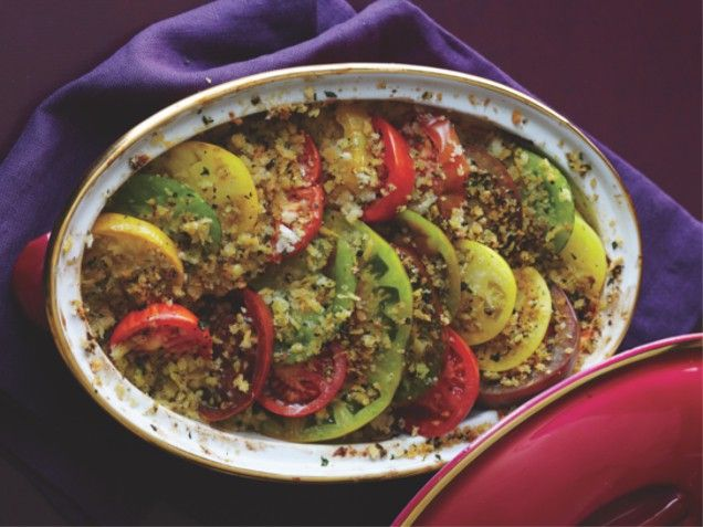 Tomato Gratin -- actually pinning this for next summer, when tomatoes ...