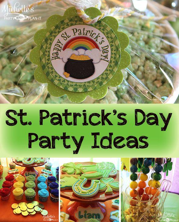 St Patricks Day Birthday Party | www.imgkid.com - The ...