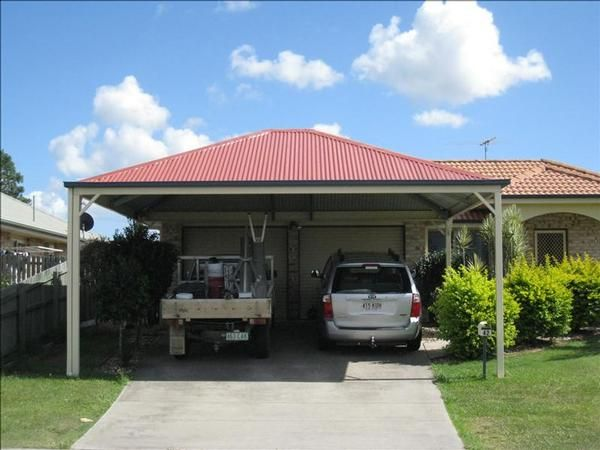 Attached Hip Roof Carport Port Cochere Pinterest
