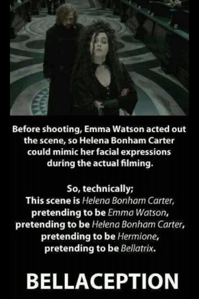 Bellaception Harry Potter Bellatrix | Harry Potter ... Helena Bonham Carter Facts