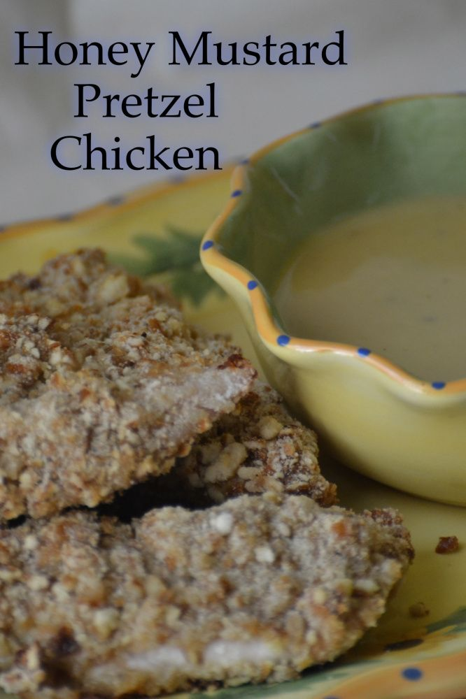 Honey Mustard Pretzel Chicken - #Honey #Mustard #Pretzel #Chicken # ...
