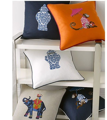 iomoi for Matouk Decorative Pillows @ Gracious Home