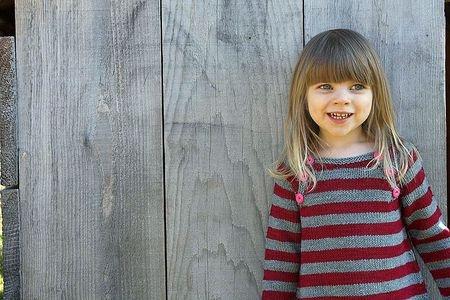 jolie robe pour petite fille, ahh les rayures