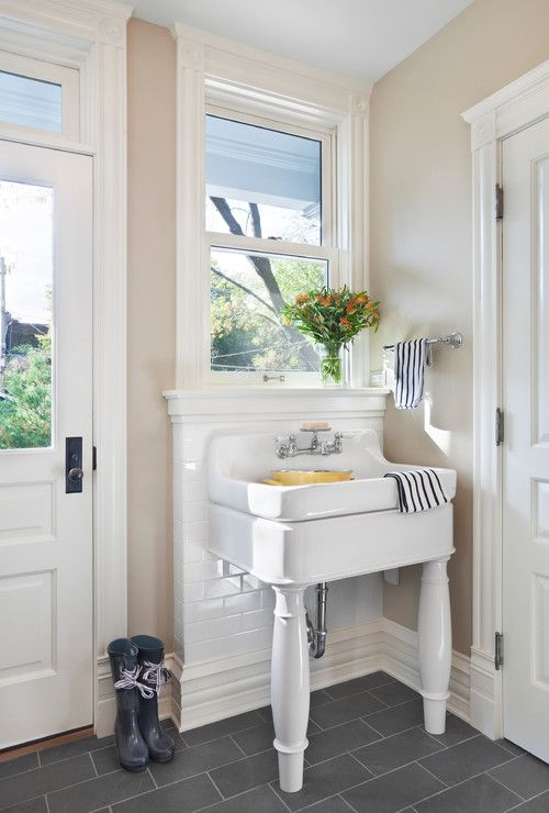Mud Room Sink For the Home Pinterest