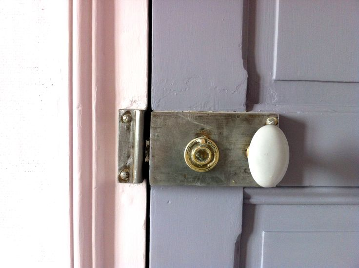 Chambre   Poignée De Porte Ancienne / Bedroom   Door Handle