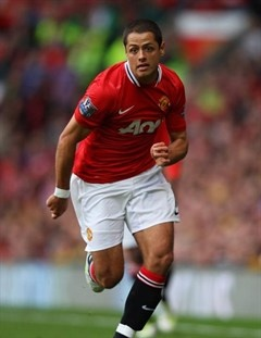 man united chicharito wiki