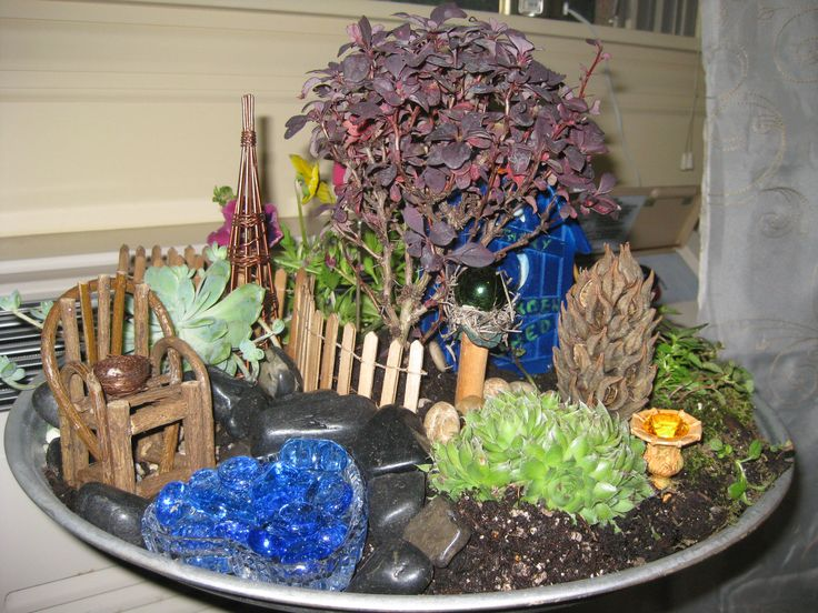 Fairy container garden fairy things pinterest - Fairy garden containers ...