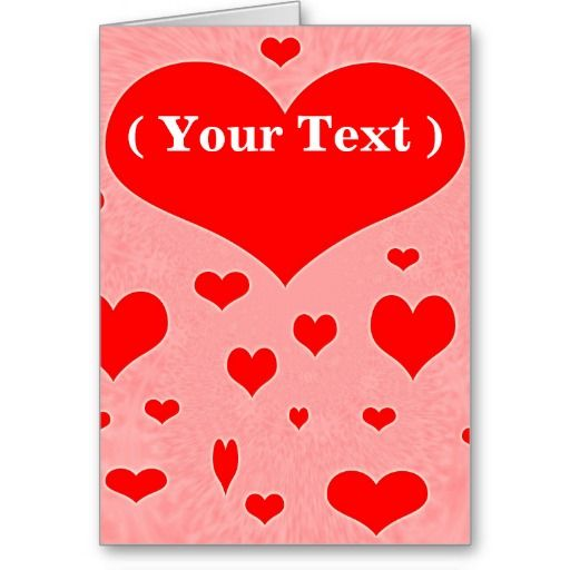 customizable valentines day cards free