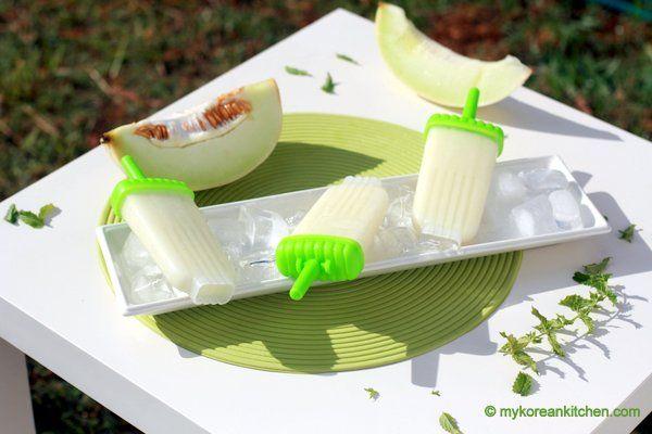 Homemade Melona Bar (Honeydew Melon Ice Pops) | Recipe
