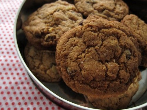 not quite health food: whole wheat chocolate chip cookies