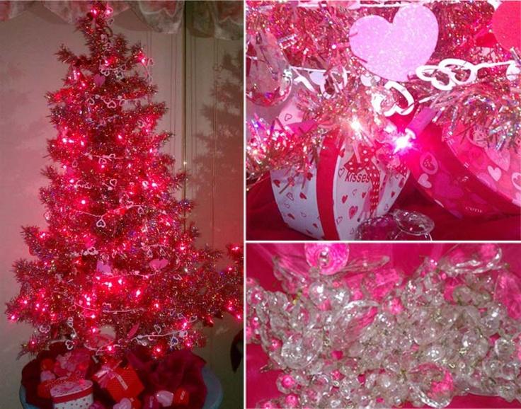 valentines tree valentines decor pinterest valentine tree decorating ideas - Vintage Valentine Decorations