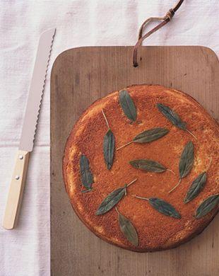 Sage and Honey Skillet Cornbread Recipe: Bon Appétit. My favorite ...