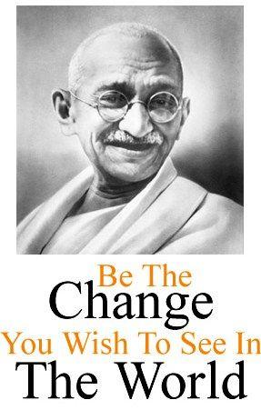 Mohandas (Mahatma) Gandhi