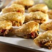 Spicy Duck Empanadas with Fire Sauce and Cilantro Cream | Recipe