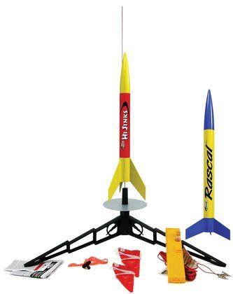 Estes Rascal/HiJinks Model Rocket Launch Set - Free Shipping