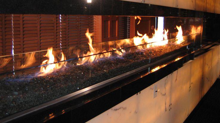 Custom Linear Gas Fireplace 736 x 414