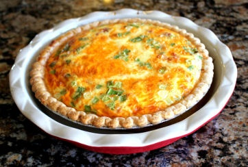 Ham and Cheese Quiche | Food - Breakfast | Pinterest