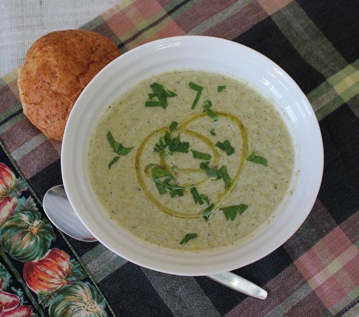 Roasted Fennel and Broccoli Soup recipe | A hearty fall soup full of ...