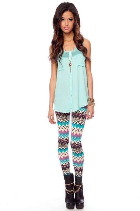 You could pull them off meike Patterned leggings