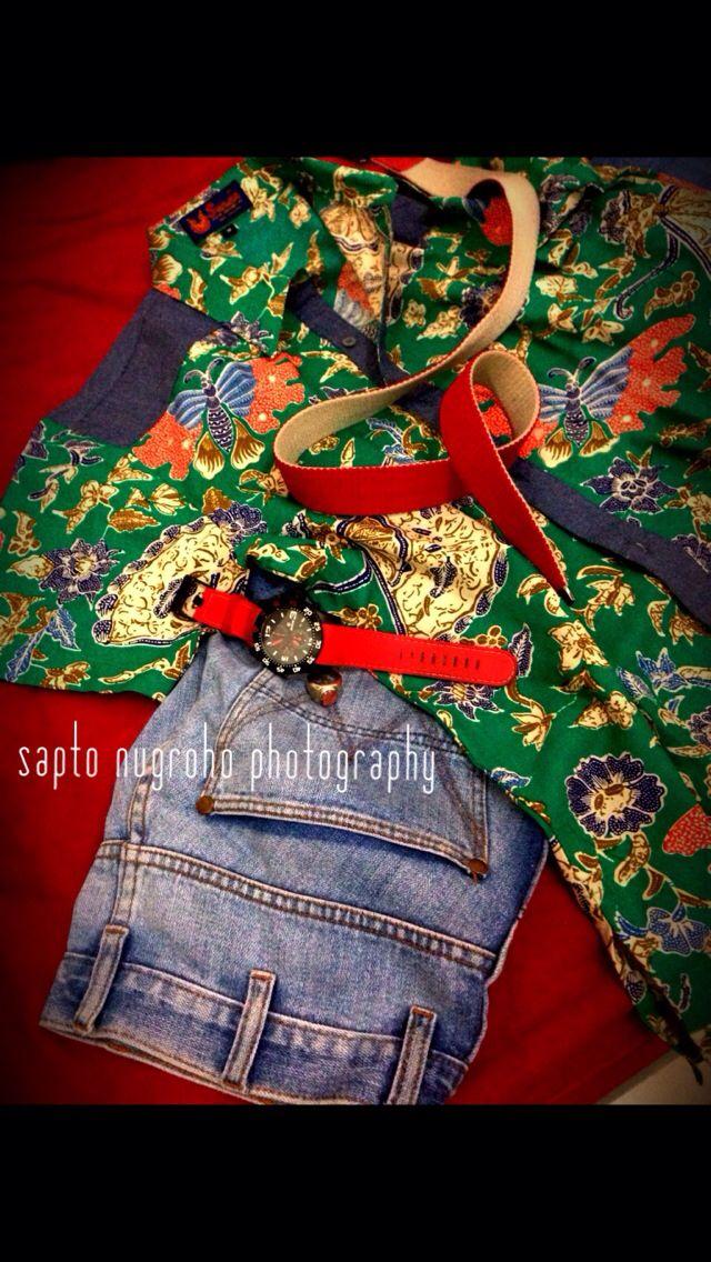 Batik casual #indonesia   Jakarta   Pinterest
