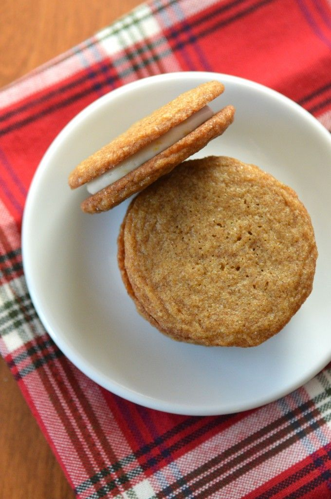 Ginger-Spice Sandwich Cookies With Lemon Cream Recipe — Dishmaps