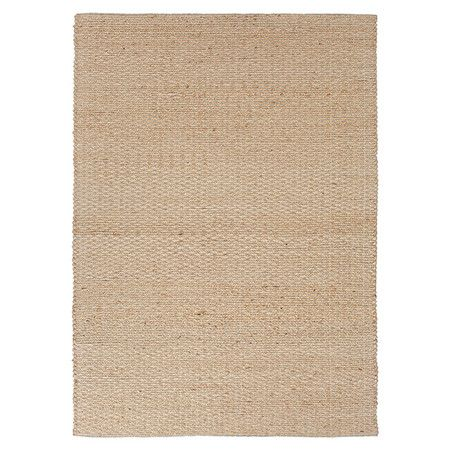 eco friendly jute and recycled chindi cotton rug hand woven in india