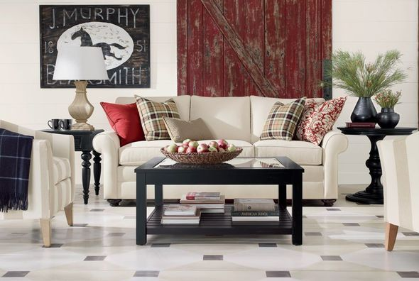 Ethan Allen Vintage Living Room Living Room Family Rooms Pint
